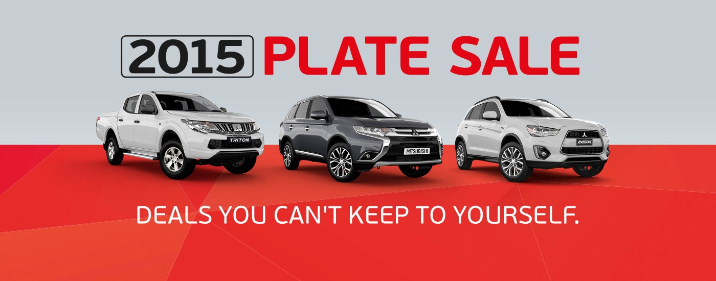 Mitsubishi December Special offers Run In