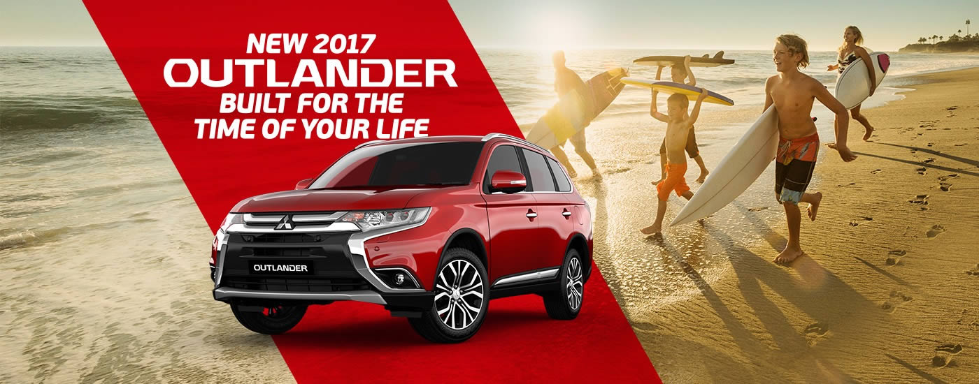 New 2017 Outlander At Mitsubishi Dealers